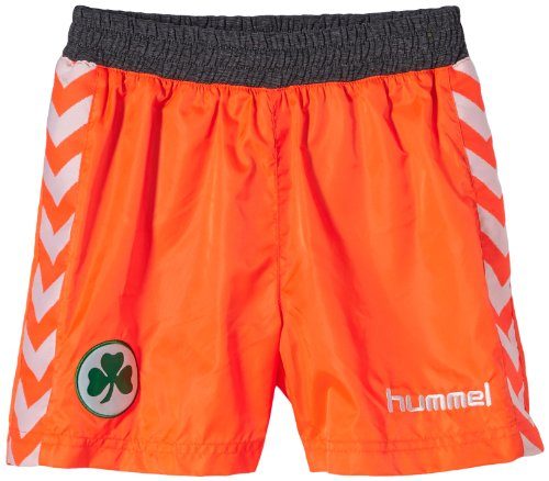 Hummel, Pantaloni corti Bambino Furth, Arancione (Shocking orange), 16 anni (176 cm)