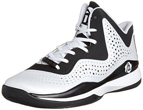 adidas D Rose 773 III Herren-Basketball Turnschuhe / Schuhe, Weiß, 49