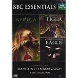David Attenborough - Africa + Wildlife Specials - TIGER & EAGLE 5 DISC COLLECTION