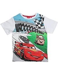 Disney Cars 2 T-Shirt 2017 Kollektion 92 98 104 110 116 122 128 Shirt Kurz Jungen Sommer Neu Lightning McQueen Weiß