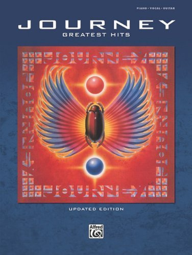 Greatest Hits: Piano/Vocal/Guitar by Journey Updated Edition [Paperback(2010/3/19)]