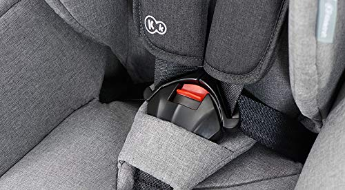 Kinderkraft Car Seat Safety FIX Child's Combination Booster Seat with ISOFIX and Top Tether Group I/II/III (9-36kg) to Approx. 12 Years Safety Certificate ECE R44/04 Navy kk KinderKraft Car Seat - The Safety-Fix car seat grows together with your child. Secure - Equipped with fixing system ISOFIX + Top tether, which guarantees a stable and safe position for your child. Comfort - Hight adjustable 5-point internal harness and 10-step adjustment headrest means the seat will serve your child for years. 7