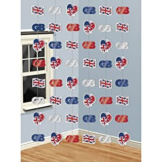 Amscan Pride, Passion, Party! Union Jack String Decoration 994816