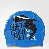 adidas Kinder GRAPHIC CAP Y / Badekappe AY2930 Blau
