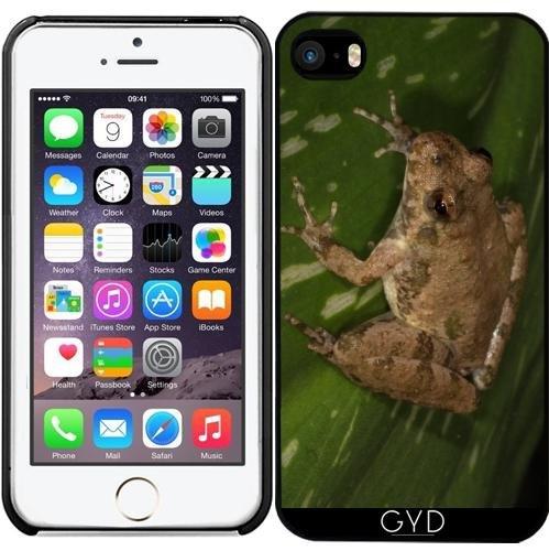 Leder Flip Case Tasche Hülle für Apple Iphone 7 Plus / 8 Plus - Cricket-Frosch by loki1982 Starre Kunststoff