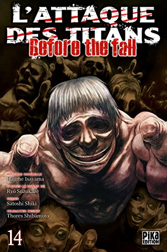 L'Attaque des Titans - Before the Fall Edition simple Tome 14