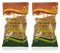 KOZHIKODEN'S Tapioca Chips - Masala, 150 Grams (Pack of 2)