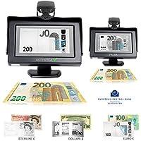 """Real Vision 4.3"""" Rilevatore banconote false infrarossi Money Vision Non richiede aggiornamento"""