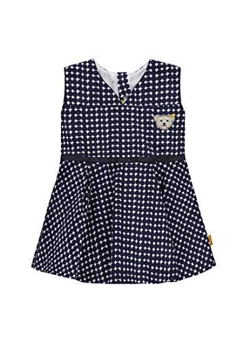 Steiff Baby-Mädchen Kleid O. Arm, Mehrfarbig (Allover 0003), 80