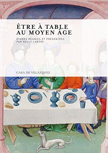 Être à table au Moyen Âge Cover Image