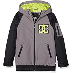 DC Shoes Troop Youth Chaqueta Nieve, Niño, Gris, S