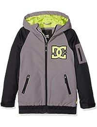 DC Shoes Troop Youth - Chaqueta nieve para niño, color gris, talla S