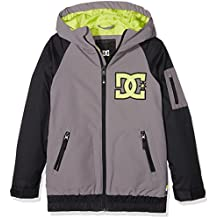 DC Shoes Troop Youth - Chaqueta nieve para niño, color gris, talla M