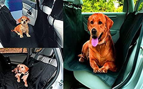 Pet Seat Cover Nonslip Scratch-proof Waterproof & Abrasion Resistance Dog Car Seat Cover & Hammock