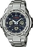 CASIO Herren Digital Uhr mit Edelstahl Armband GST-W310D-1AER