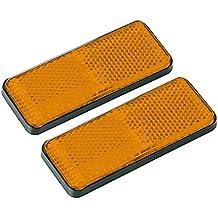 Lampa 20541 - Juego de reflectantes rectangulares, omologati, naranja