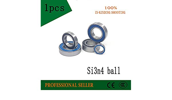 Ochoos 1PCS 695 696 697 698 699 2RS RS Steel Hybrid Ceramic Bearings Bike Bearing si3n4 Balls Length: 698-2RS