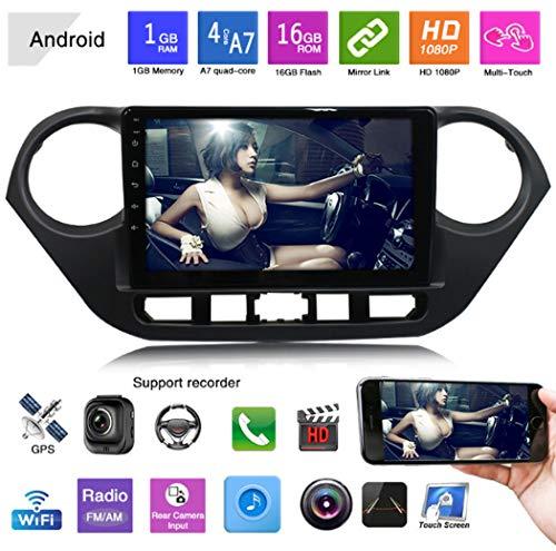 Y&Jack Navigator One Machine Car GPS Navigation Smart Car Player Mp4 Bluetooth Reversing Image for Modern i10 Car