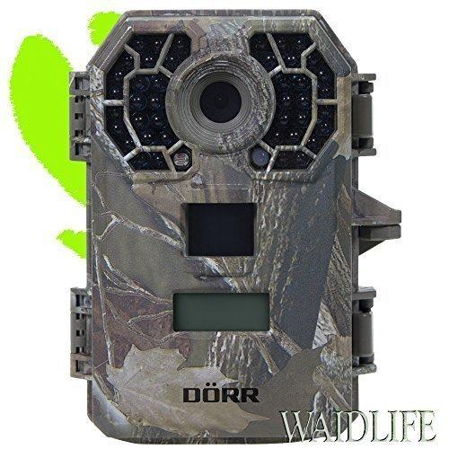 DÖRR Wildkamera WILDCAM BLACK IR X42 Jagdkamera Fotofalle mit unsichtbarem Biltz