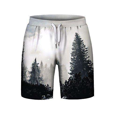 Uomini-Pantalone-corti-in-felpa-di-cotone-Styledresser-Uomo-Sudore-Quick-Dry-Ultra-Leggero-E-Traspirante-Leisure-3D-Stampa-Pantaloncini-In-Spiaggia-2018