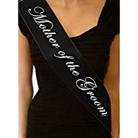 GOOTRADES 5 Pcs Black Hen Night Sash Party Sashes Do Accessories Bride To Be Out Girls Deluxe Bling