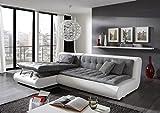 Sofa Dreams Designer Ledersofa Exit Eleven mit Stauraum und praktischer Schlaffunktion