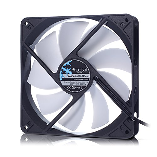 Fractal Design Silent Series R3 140mm FD-FAN-SSR3-140-WT -