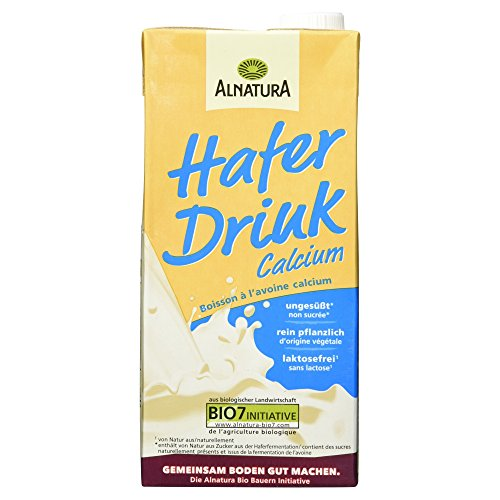 Alnatura Bio H-Hafer-Drink Calcium, 1.00 l Test