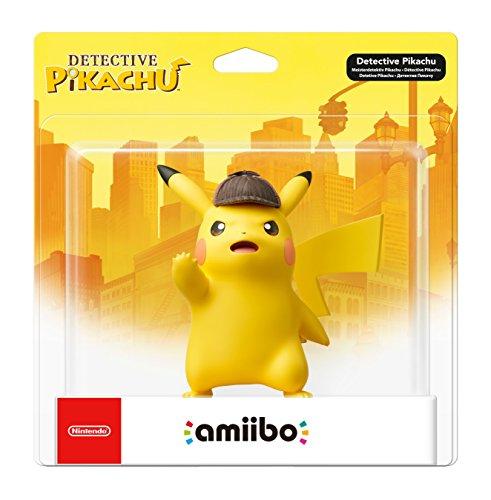 Nintendo - Figura Amiibo Detective Pikachu (precio: 19,90€)