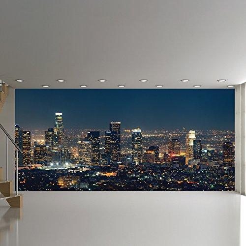 Los Angeles Panorama Wandbild Stadt Skyline Foto-Tapete Schlafzimmer Haus Dekor Erhältlich in 8 Größen XXX-Groß Digital (Los Angeles, Stadt, Fototapete)