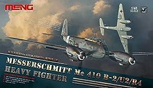 Meng Kit de Modelo Messerschmitt MeScale410bScale2/U2/R4HeavyFighter, Escala 1:48