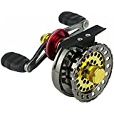 EDTara Metal Wire Cup Fishing Reel Right/Left Handed Fishing Raft Wheel For Ice Fishing