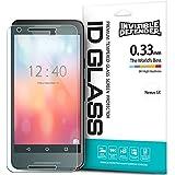 Protector de Pantalla Nexus 5X 2015, Invisible Defender Glass [MAX HD CLARIDAD] Nexus 5X 2015 vidrio protector de Pantalla Garantía de por vida Perfect Touch de precisión de alta definición (HD) Claridad película el para Google Nexus 5/ 5X 2nd Gen 2015 (No para Nexus 5 2013)