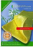 Bambus Spültuch Fett Plus, Spüllappen waschbar Vorreinigungstuch, ANTIBAKTERIELLES Wischtuch Abwaschlappen