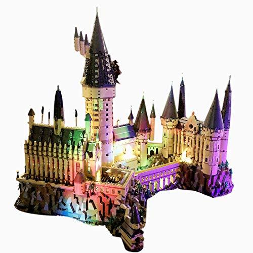 ngsset Licht-Set für Lego Harry Potter Schloss Hogwarts (71043) - Modell Nicht Enthalten ()