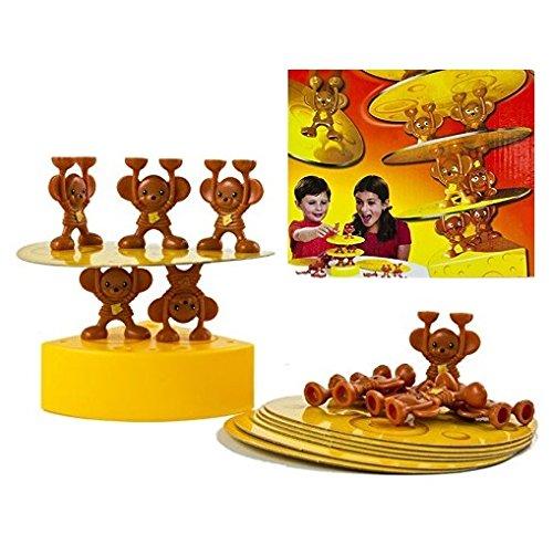 PREMIUM Kinderspiel Mäuse lieben Käse - Geschicklichkeitsspiel mit Spaßgarantie (Spider Man Kostüm Ps3)