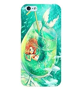 Citydreamz Little Mermaid\Fish\Fairy Hard Polycarbonate Designer Back Case Cover For Apple Iphone 6/6S