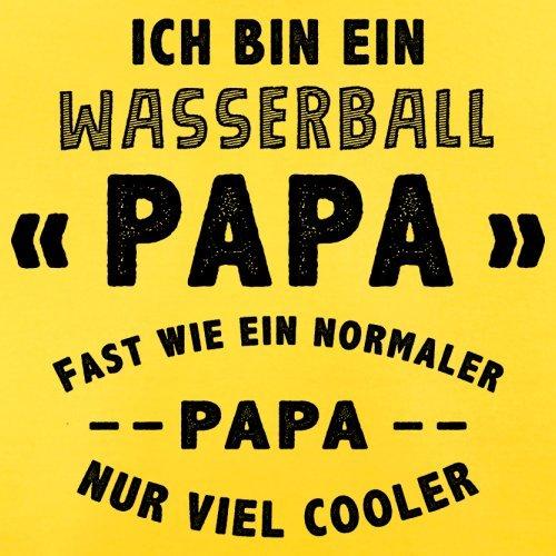 Ich bin ein Wasserball Papa - Herren T-Shirt - 13 Farben Gelb