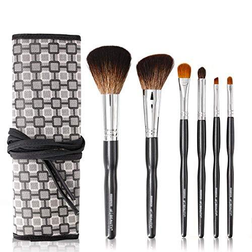 Huazhuangshuaa Make-up Pinsel, Set Make-up Pinsel für Anfänger Ein komplettes Set Make-up Pinsel Make-up Pinsel Loose Powder Brush Glossy Eye Shadow Brush - Eye Shadow 4 Loose Powder