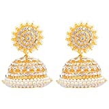 Khushi Purchase Gold-Plated Jhumki For W...