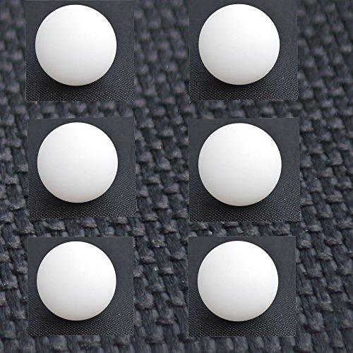 6er Pack Set Tischtennisbälle Tischtennisball Tischtennis Bälle Ball PingPong Ø 4cm Ping Pong weiss
