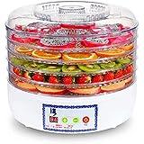 Deshidratador de Alimentos con Controlador de Temperatura, Secadora de Frutas y Carnes, deshidratador Digital