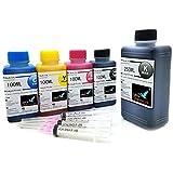Office Channel24 650ml Nachfülltinte für Canon Druckerpatronen PGI-580 CLI -581 für Canon Pixma TR7550 TR8550 TS6150 TS6151