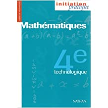 Mathématiques, 4e technologique. Livre de l'élève by Yves Verdier (1995-03-20)