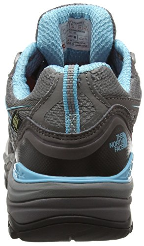 The North Face W HEDGEHOG FASTPACK GTX (EU), Chaussures de trekking et randonnée femme Gris (Dark Gull Grey/Fortuna Blue Rd6)