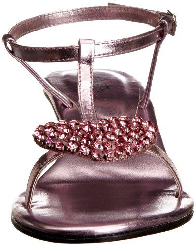 Unze Evening Sandals, Damen Sandalen Pink (L18386W)