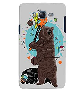 Citydreamz Bear/Wild/Guitar/Abstract Modern Art Hard Polycarbonate Designer Back Case Cover For Samsung Galaxy Grand I9082