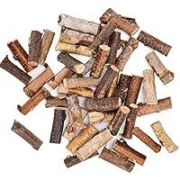 Byher Craft Sticks, Mini Wood Log for Rustic Home Decor - Farmhouse Centerpiece Decor Twigs (Craft Sticks-)