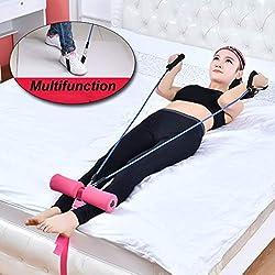 TriLance - Máquina de entrenamiento multifuncional para abdominales, para la cama, para el hogar, para el estómago, para fitness, para entrenamiento, b