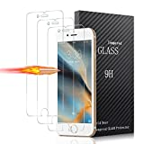 [3-Pack] Vetro Temperato iPhone 7 / 6 / 6S, Pellicola Protettiva ONSON in Vetro Temperato Screen Protector Film Ultra Resistente (0,33mm HD Alta trasparente) per iPhone 7 / 6 / 6S immagine